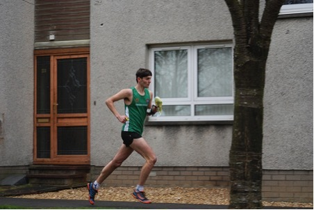 Tom at the Scottish Sprint Champs
