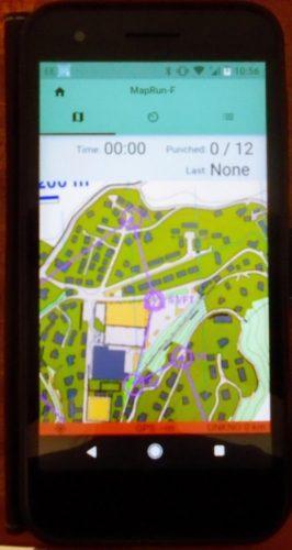 Map Run F