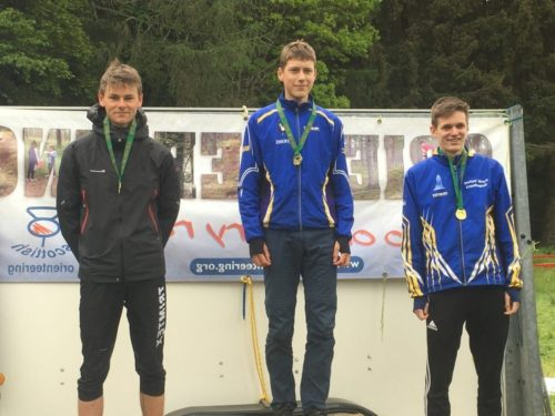 Podium place for Louis - 2nd M18E