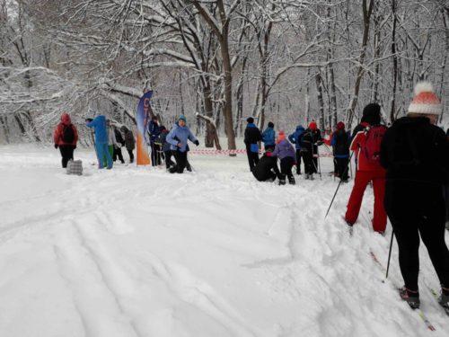 Ski orienteering in Samara