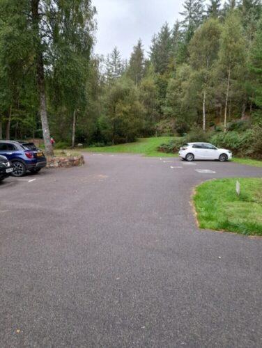 Glencoe lochan parking